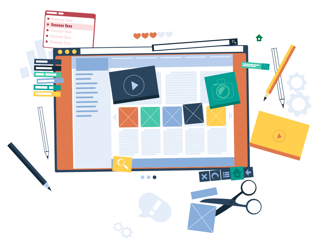Website Redesign with SEO Service Company